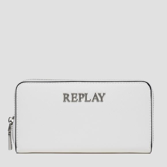 REPLAY solid-coloured wallet - Replay FW5255_003_A0283_001_1