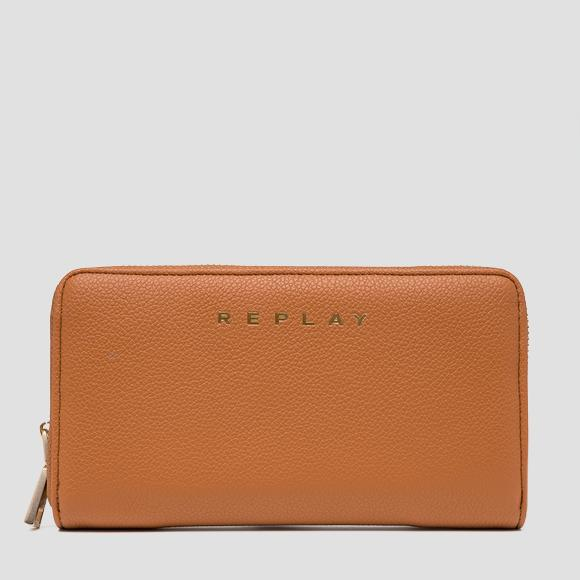 Rectangular zip-around wallet - Replay FW5259_000_A0363C_133_1
