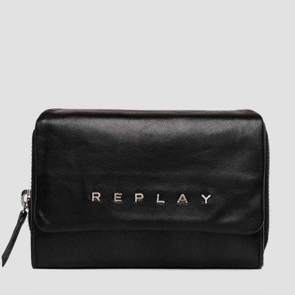 REPLAY wallet in leather - Replay FW5267_000_A3187_098_1