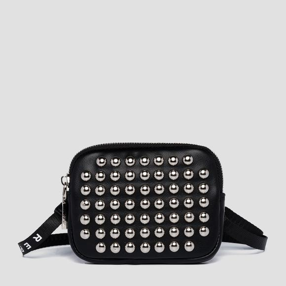 REPLAY ESTABLISHED 1981 purse with studs - Replay FW5276_000_A0157B_098_1