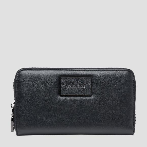 REPLAY ESTABLISHED 1981 rectangular wallet - Replay FW5280_000_A0437_098_1