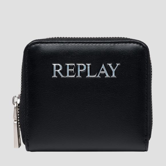 REPLAY wallet with zipper - Replay FW5281_000_A0365B_098_1
