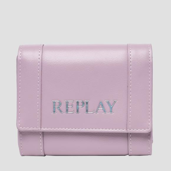 Solid-coloured REPLAY wallet - Replay FW5282_000_A0365B_328_1