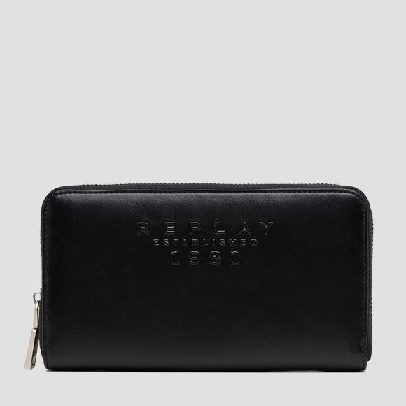 REPLAY ESTABLISHED 1981 zip-around wallet - Replay FW5283_001_A0365B_098_1