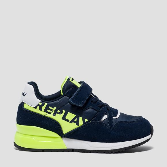 Boys' KATAI lace up sneakers- REPLAY&SONS GBS29_000_C0002L_923_1