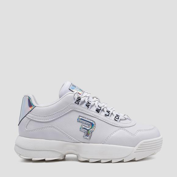 Girls' CIUDAD lace up sneakers- REPLAY&SONS GBS32_000_C0001S_081_1