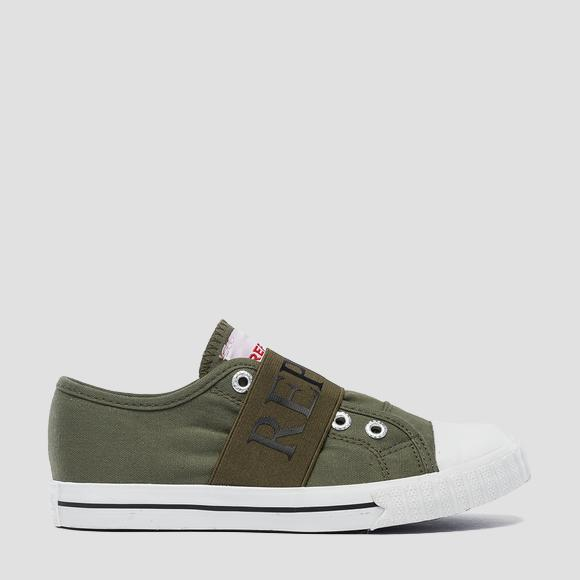 Boys' CALEDONIA slip on sneakers- REPLAY&SONS GBV08_000_C0117T_1653_1