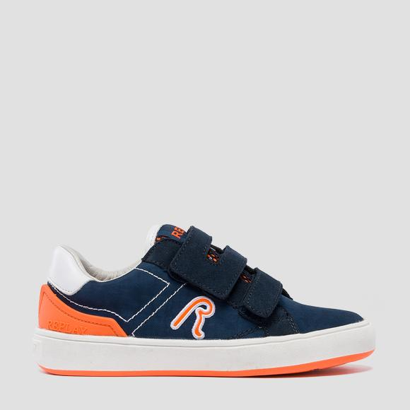 Boys' CAPITOL low cut sneakers- REPLAY&SONS GBZ19_000_C0014S_2074_1