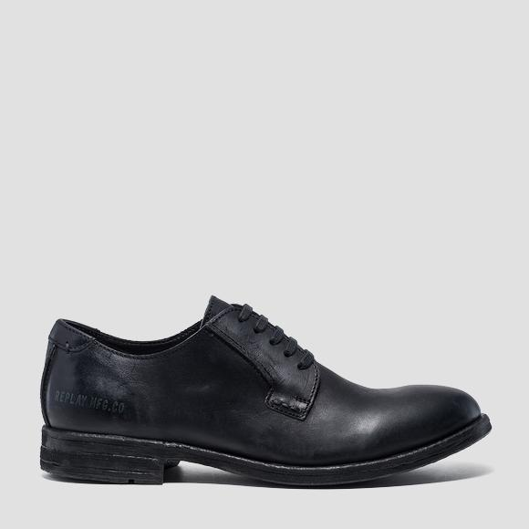 Men's BELLAMY lace up leather shoes - Replay GMC84_000_C0002L_003_1