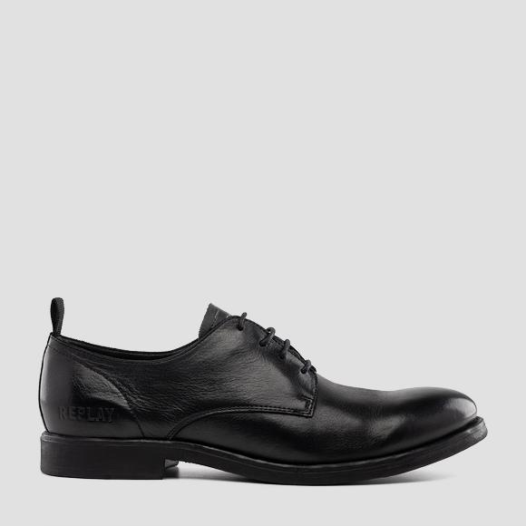 Men's CORDELL lace up leather shoes - Replay GMC86_000_C0006L_003_1