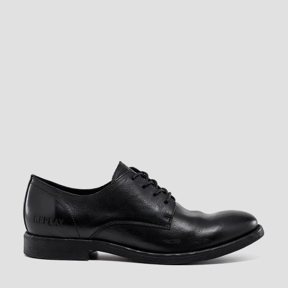 Men's MIDNIGHT lace up leather shoes - Replay GMC86_000_C0010L_003_1