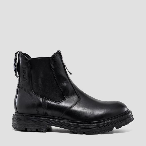 Men's RESERVE leather chelsea boots - Replay GMC88_000_C0004L_003_1