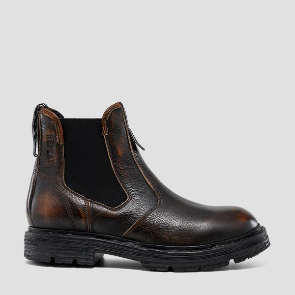 Men's EMBRY leather chelsea boots - Replay GMC88_000_C0005L_018_1
