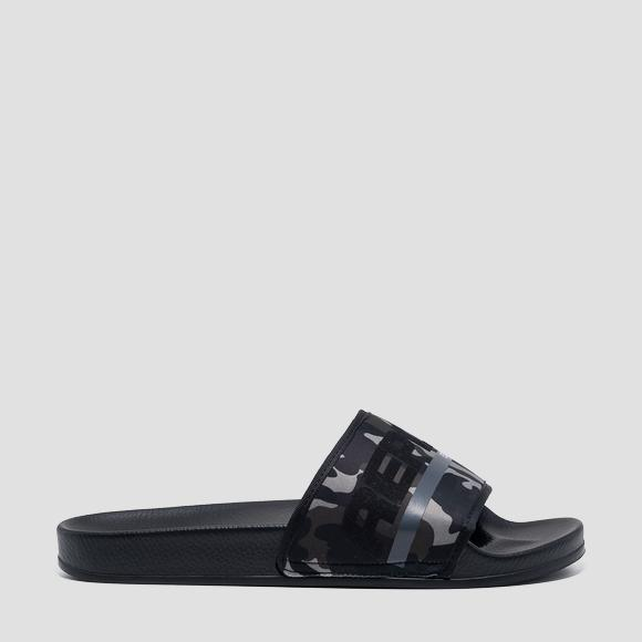 Men's CONCRETE sliders - Replay GMF1A_000_C0004T_370_1