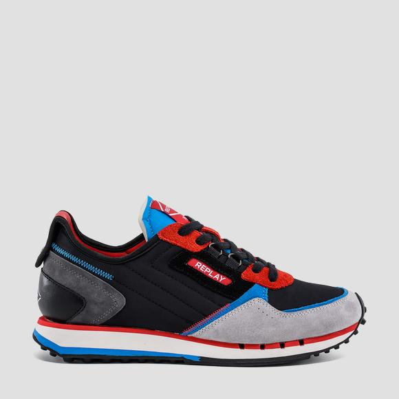 Men's DRUM WAVE M21 lace up sneakers - Replay GMS2M_000_C0012T_2893_1