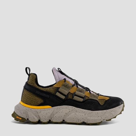 Men's SUNYSIDE lace up sneakers made in collaboration with Vibram® - Replay GMS4G_000_C0004T_1935_1