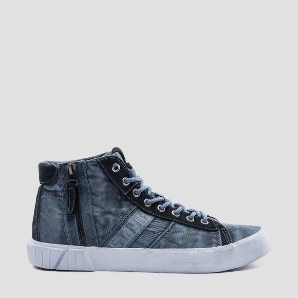 Men's DOCK mid cut sneakers - Replay GMV76_000_C0016S_010_1