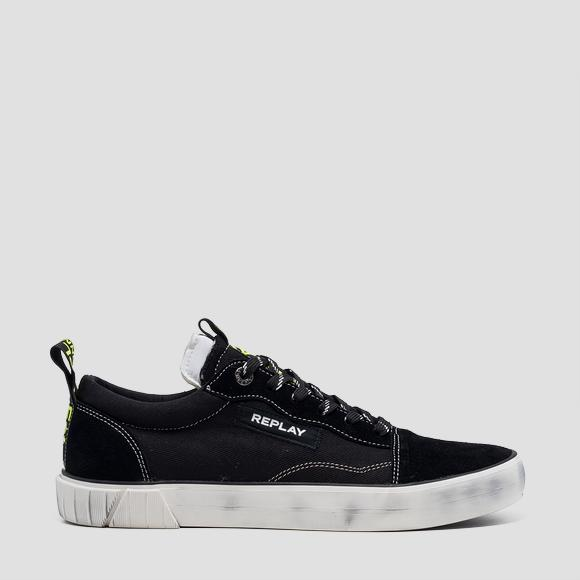Men's COURTLAND lace up sneakers - Replay GMV76_000_C0021T_003_1