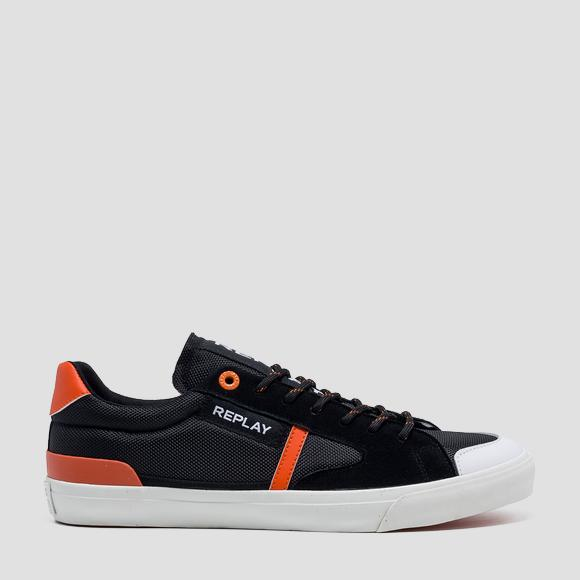 Sneakers homme LAMPARD à lacets - Replay GMV86_000_C0007T_003_1