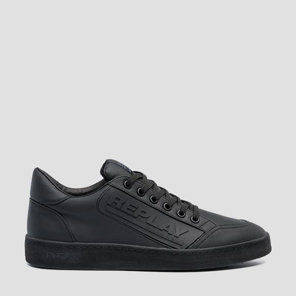 Men's BURNSIDE lace up sneakers - Replay GMZ1G_000_C0014S_003_1