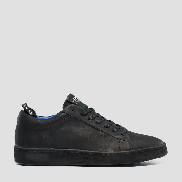 Men's ERIK lace up leather sneakers - Replay GMZ52_000_C0025L_003_1