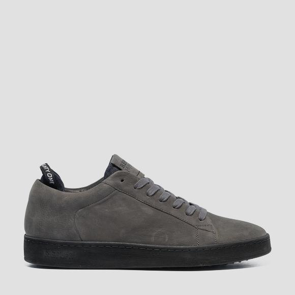 Men's ERIK lace up leather sneakers - Replay GMZ52_000_C0025L_019_1