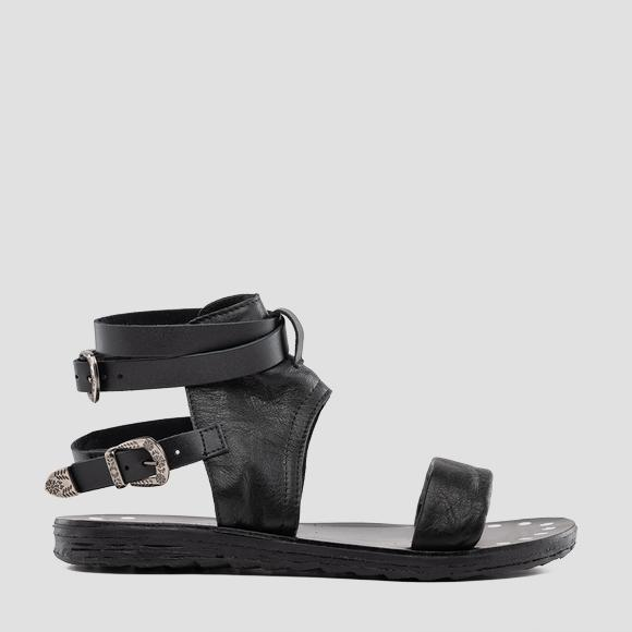 Women's LINDSAY leather sandals - Replay GWF1R_000_C0003L_003_1