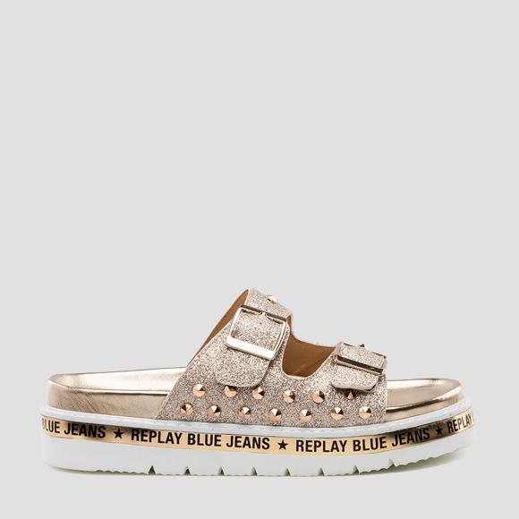 Women's HACKBERRY mules - Replay GWF81_000_C0012S_140_1