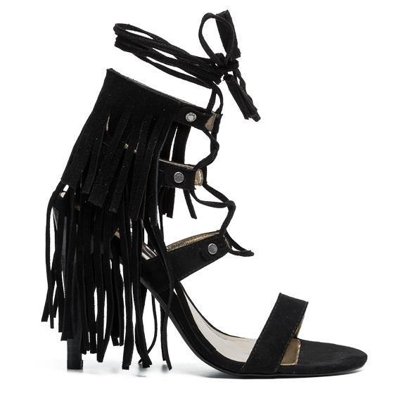 VIOGNER women's fringed sandals - Replay GWH59_000_C0011S_003_1