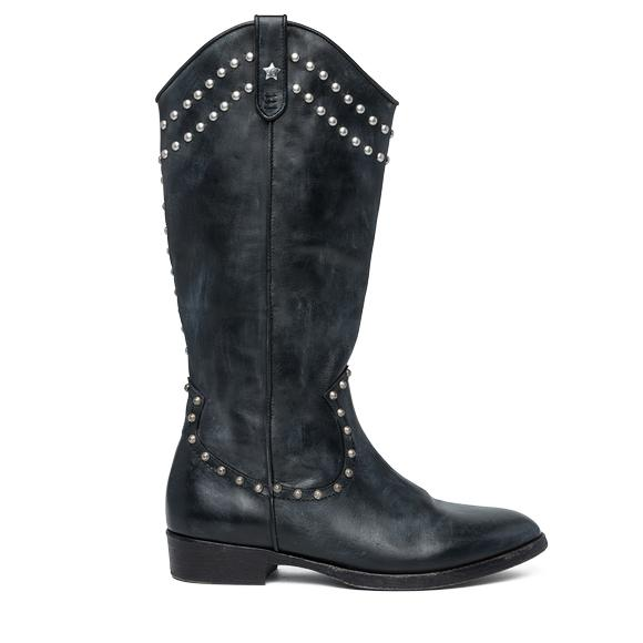 MEDEN women's studded boots - Replay GWL40_000_C0001L_003_1