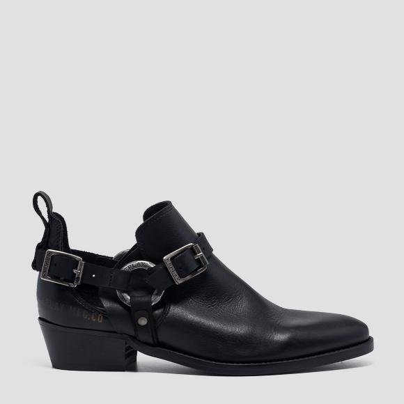 Women's SHELLO leather shoes - Replay GWN57_000_C0008L_003_1