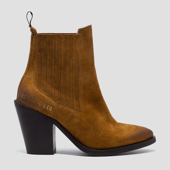 Women's CORBY suede chelsea boots - Replay GWN58_000_C0006L_056_1