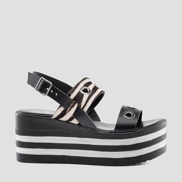 Women's WILLAND leather sandals - Replay GWP4Z_000_C0003L_1677_1