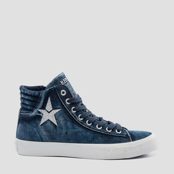Women's EDNA mid cut sneakers - Replay GWV79_000_C0006T_040_1