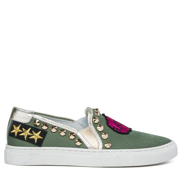 STARM women's slip-ons with patches - Replay GWZ79_000_C0015T_039_1