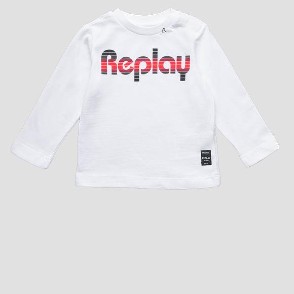Long-sleeved t-shirt- REPLAY&SONS PB7060_071_22784_001_1