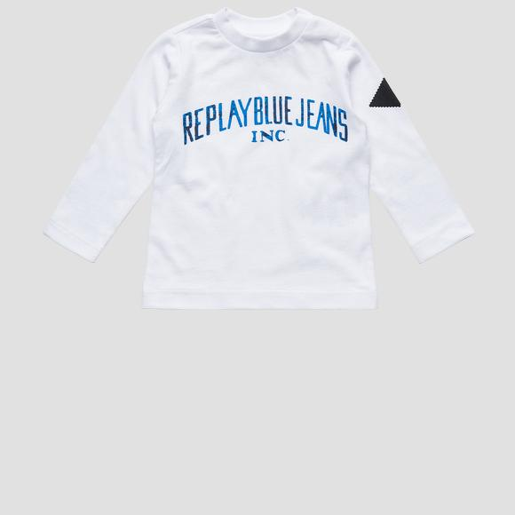 REPLAY BLUE JEANS crewneck t-shirt- REPLAY&SONS PB7060_074_22784_001_1