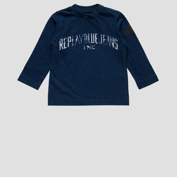 REPLAY BLUE JEANS crewneck t-shirt- REPLAY&SONS PB7060_074_22784_086_1