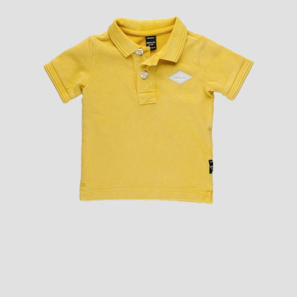 Cotton piquet Polo t-shirt- REPLAY&SONS PB7524_058_22914G_549_1