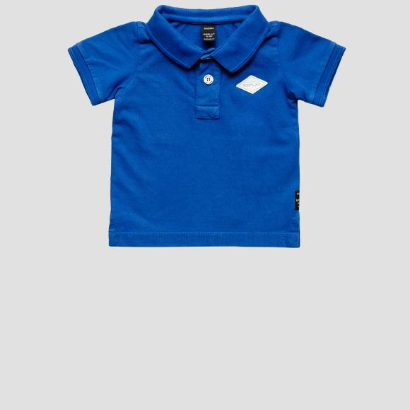 Cotton piquet Polo t-shirt- REPLAY&SONS PB7524_058_22914G_888_1