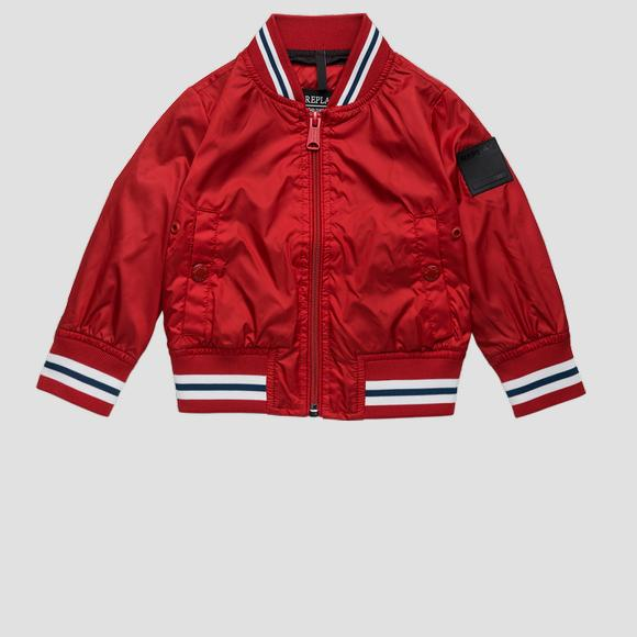 Striped technical bomber jacket- REPLAY&SONS PB8160_050_82692_055_1