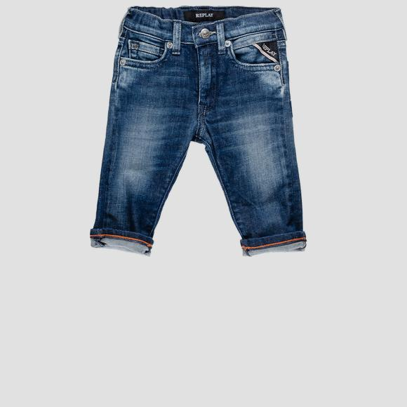 Jeans with elasticated waistband- REPLAY&SONS PB9014_051_115-437_001_1