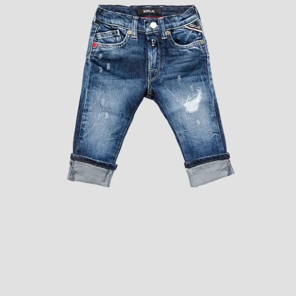 Aged 5 years stretch REPLAY jeans- REPLAY&SONS PB9036_050_223-208_001_1