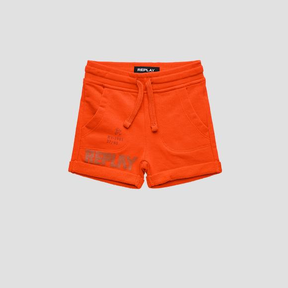 REPLAY fleece shorts- REPLAY&SONS PB9639_052_22739_559_1