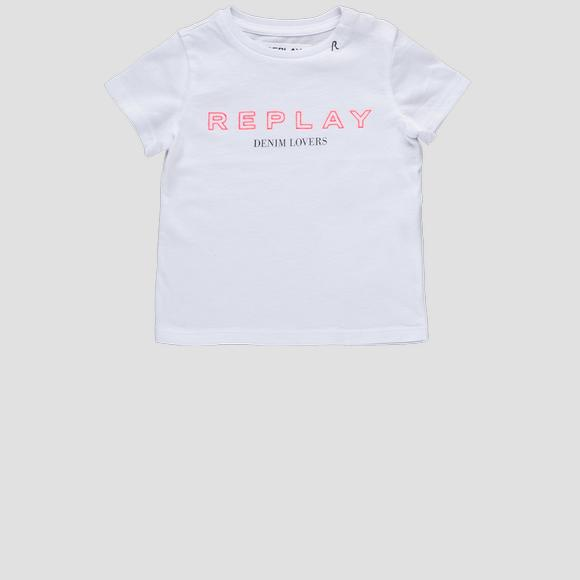 REPLAY cotton t-shirt- REPLAY&SONS PG7472_054_20994_001_1