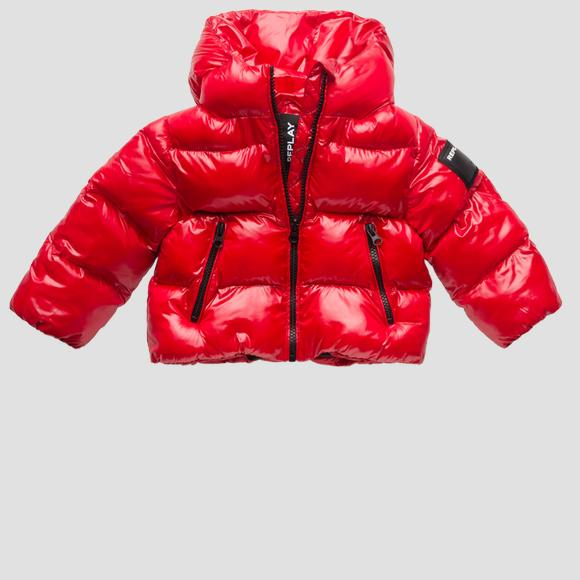 Padded jacket with hood- REPLAY&SONS PG8217_050_83420_457_1