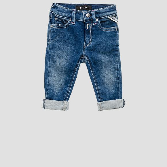 ROSE LABEL stretch jeans- REPLAY&SONS PG9208_051_291-377_001_1