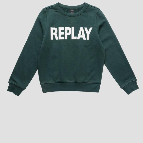 Crewneck REPLAY sweatshirt- REPLAY&SONS SB2026_010_22739_135_1