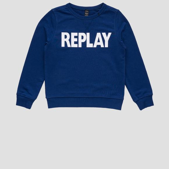 Crewneck REPLAY sweatshirt- REPLAY&SONS SB2026_010_22739_792_1