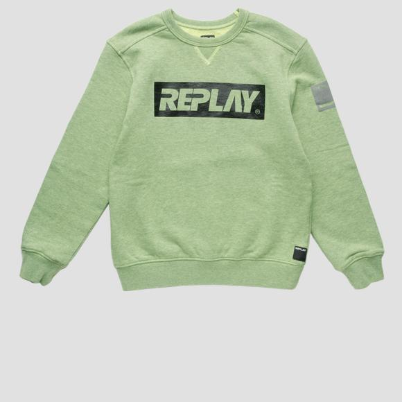 Cotton sweatshirt- REPLAY&SONS SB2037_050_22772_147_1